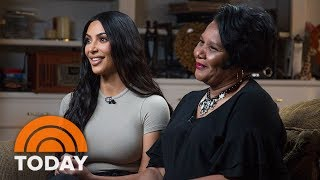 Kim Kardashian West And Freed Inmate Alice Johnson Meet For The First Time | TODAY
