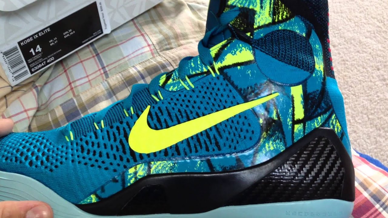 1c8f588e2d8 Kobe 9 Elite Perspective Colorway Review - YouTube