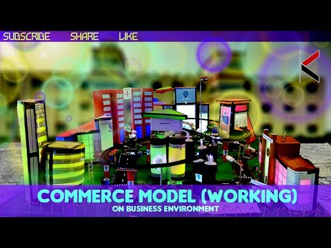 COMMERCE PROJECT MODEL || BUSINESS ENVIRONMENT MODEL || SCUT