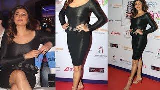Sushmita Sen in Hot Tight Black Outfit at AsiaSpa Awards