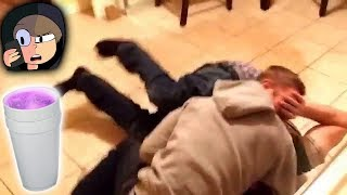 GUYS FIGHT OVER LEAN..