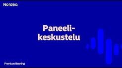 Pallo on sinun - Premium-asiakastilaisuuden PANEELI-osio, Helsingin Finlandia-talo | Nordea Pankki