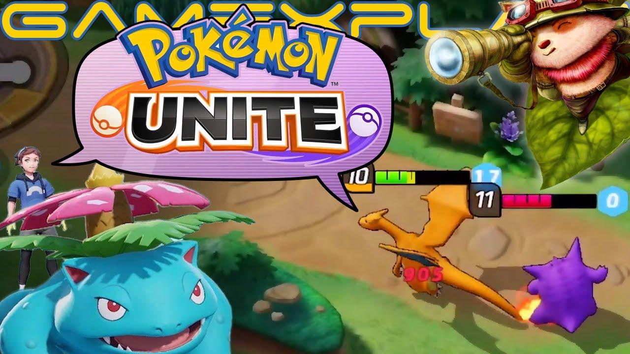 Pokemon Unite Reveal Becomes The Pokemon Company's Most ...