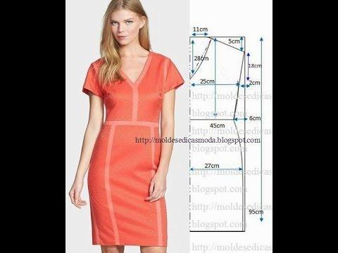 Платья кройка и шитье выкройки