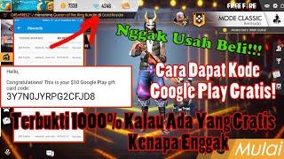 Gambar cover INI DIA CARA DAPAT KODE GOOGLE PLAY GRATIS! Untuk Top Up Game Online | Free Fire Indonesia