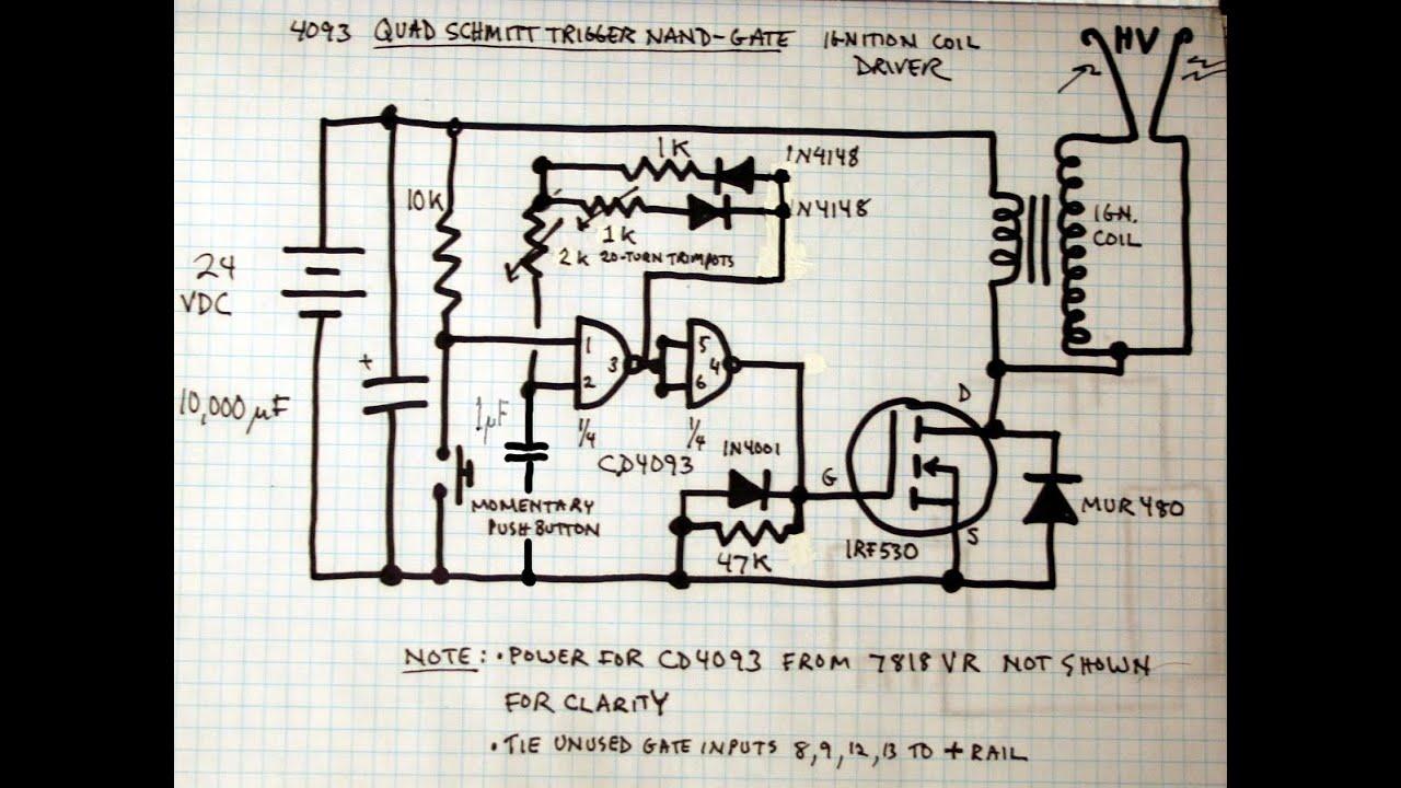 Extreme High Voltage Spark Plug Plasma W Isopropanol