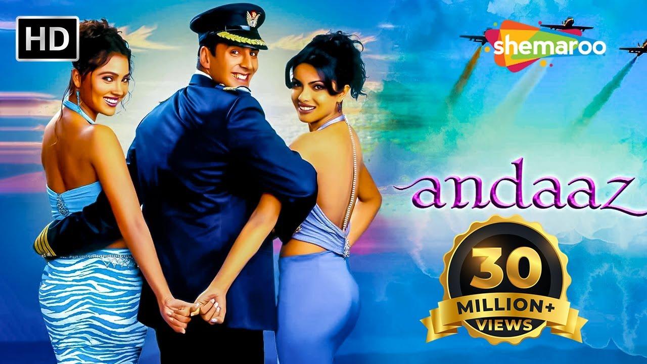 Download Andaaz Movie (2003) Full HD | Akshay Kumar | Priyanka Chopra | Lara Dutta | Aman Verma | Romantic
