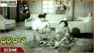Dharma Daata Movie || Kanchana Injured Herself To Impress ANR || ANR, Kanchana || Shalimarcinema