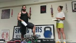 Your First Kettlebell Competition ? 10 plus Tips to be Ready