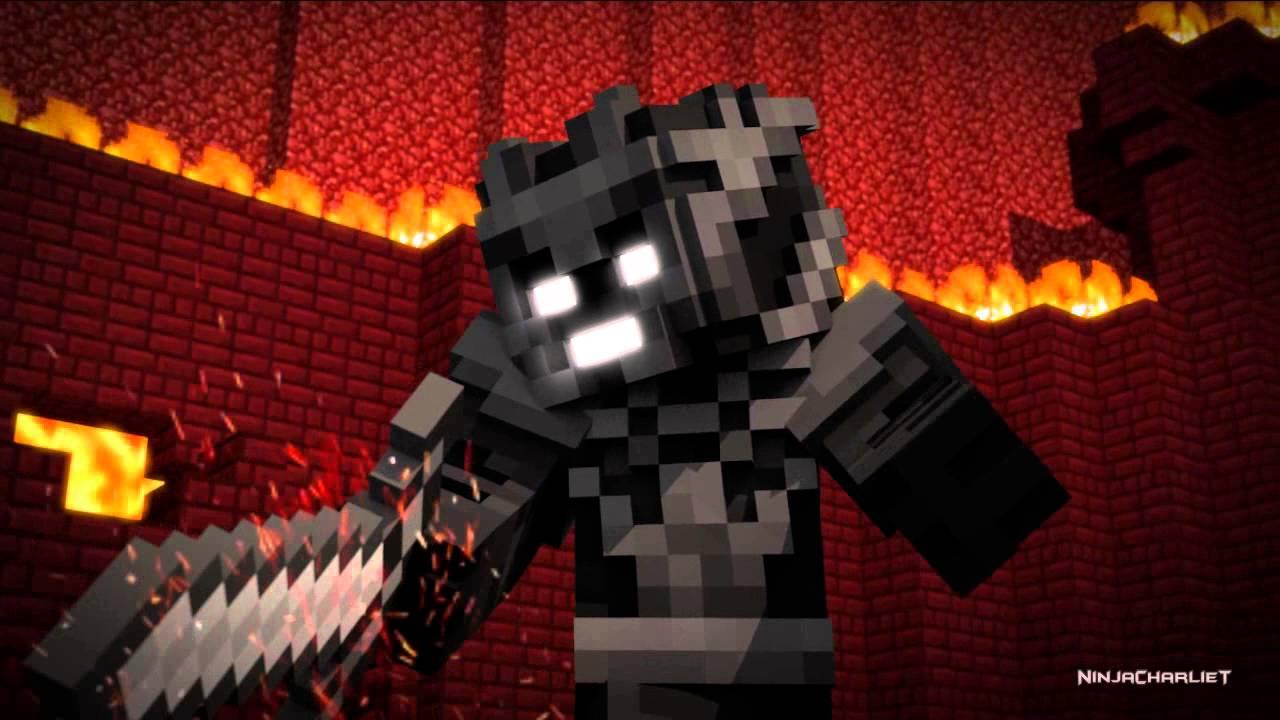 Minecraft Wallpaper 3d Herobrine Lords Of Darkness Minecraft Animation Youtube