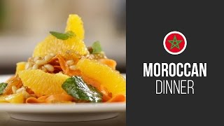 Moroccan Salad With Carrot, Oranges And Pine Nuts || Around The World: Moroccan Dinner || Gastrolab