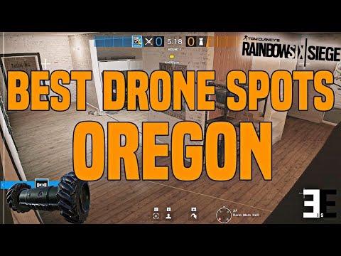 Best Drone Spots   Oregon   Tips & Tricks   Rainbow Six Siege - R6