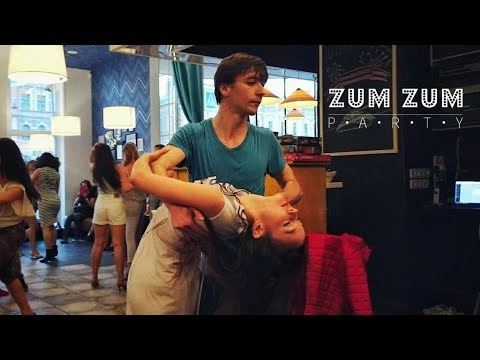 ZumZum Party. Andrey Korotaev And Julia Ivanova. Zouk Improvisation. (Don't Do It)