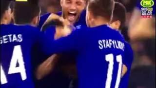 Maniatis amazing goal Greece vs Australia