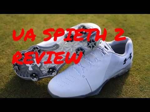 Under Armour Spieth 2 golf shoe review: lighter and more comfortable