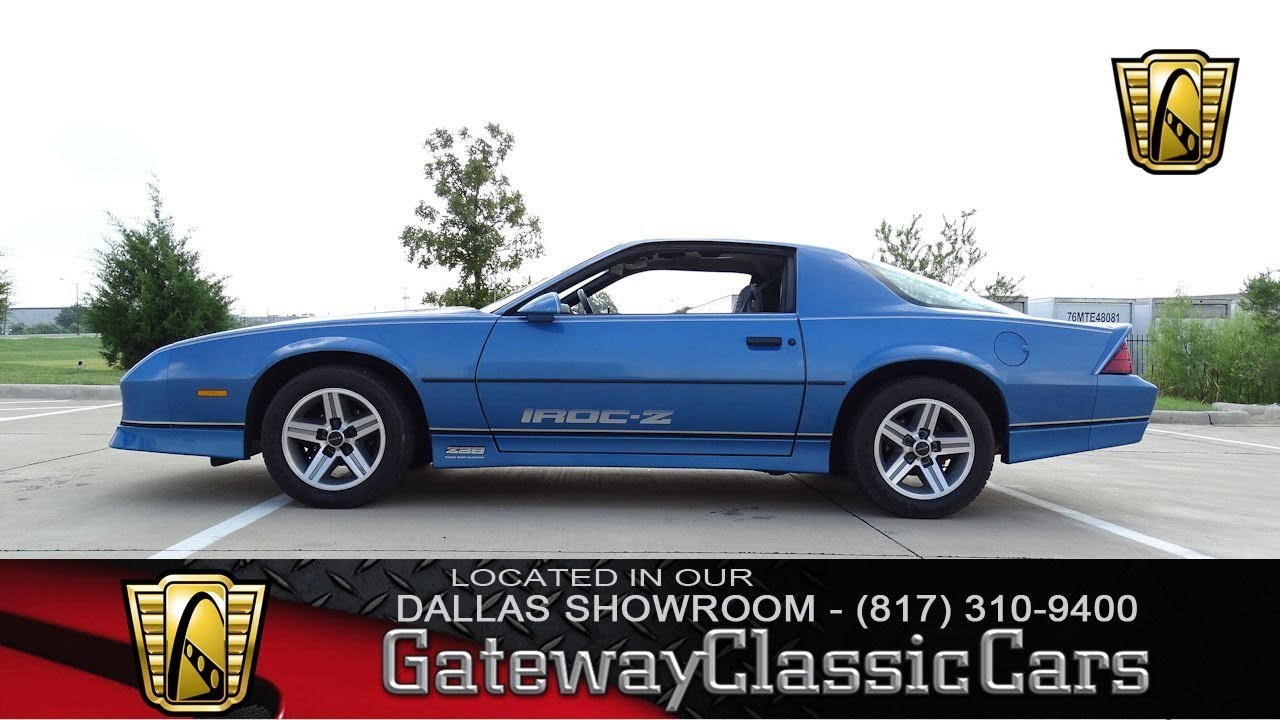 1985 Chevrolet Camaro IROC-Z #470-DFW Gateway Classic Cars of Dallas ...