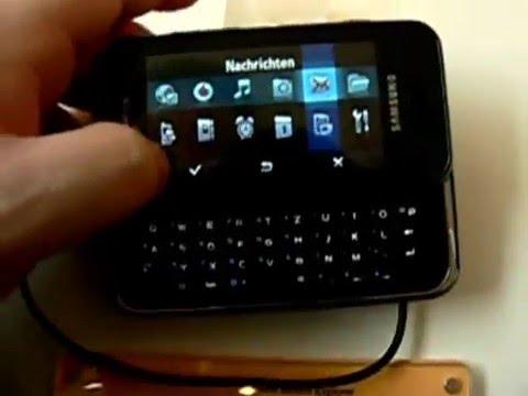 CeBIT 2008: Samsung F700