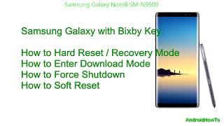 Samsung Galaxy Note8 SM-N9500 Hard reset