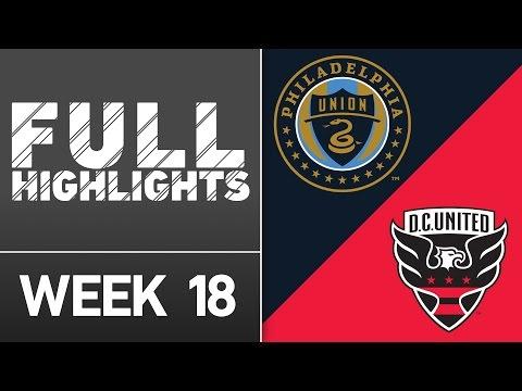 HIGHLIGHTS: Philadelphia Union vs D.C. United | July 9, 2016