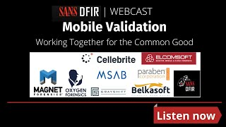 Mobile Validation - Working together for the Common Good