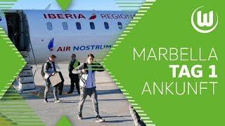 Ankunft in Marbella   Tag 1   #WölfeinMarbella