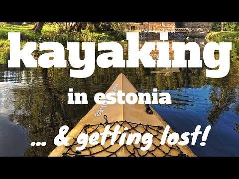 Kayaking in Estonia (and getting LOST) // DJI Phantom Drone + GoPro HERO4