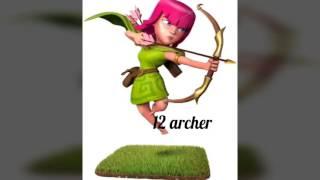 Mé troupe préféré dans clash of clans le 2 (Tii Clash)