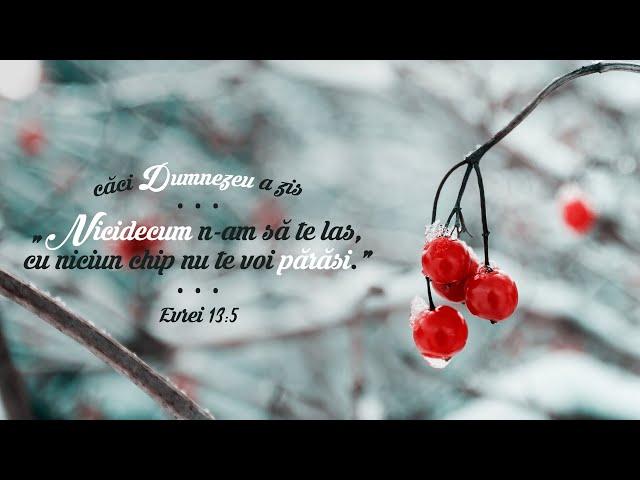 15 februarie 2020 - Cristian Gherase [ora de rugaciune]