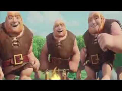 CLASH OF CLANS MOVIE TRAILER 2017