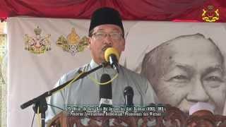 Majlis Perasmian Pameran Tok Guru – YB Mejar (B) Dato' Md Anizam