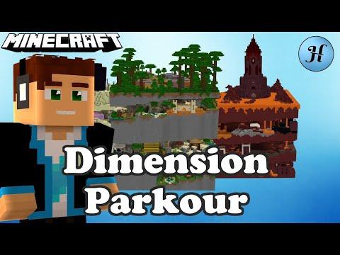 Minecraft Dimension Parkour - NAJLEPSZA MAPA NA ŚWIECIE?!