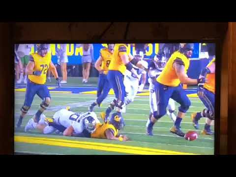 Cal's Failure To Double-Team Oregon's Drayton Carlberg Led To Fumble Returned For TD