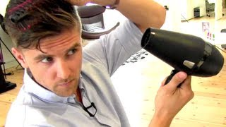 Marco Reus hair - men's hair inspiration - Styling with SculptME Professional
