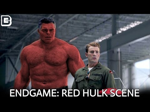 Avengers Endgame: Red