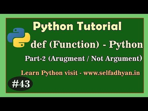 Function in Python (2) - Learn Python in Hindi | Python Tutorial for class 11 and class 12 thumbnail
