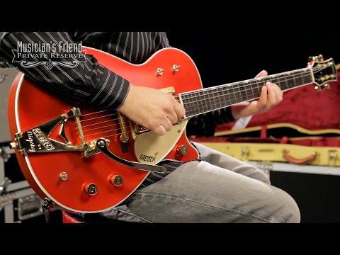 Gretsch Guitars Custom Shop Duo Jet Electric Guitar, Candy Apple Red