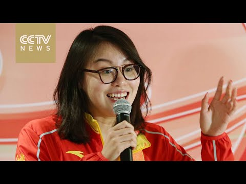 China's mainland Olympic stars arrive in Hong Kong for visit
