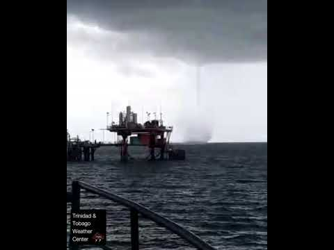 18th November 2020 | Waterspout in the Gulf of Paria