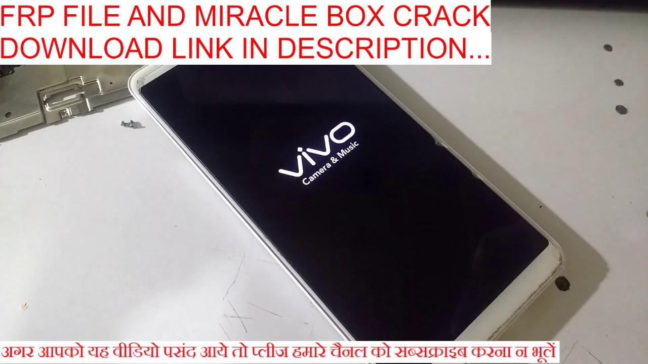 Vivo Y71 & Y71i Reset By Miracle Box Crack