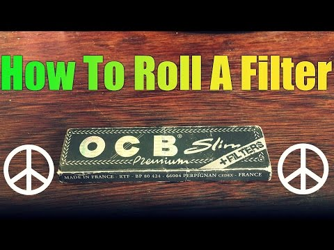 How To Make A Filter Tip