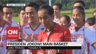 Video Presiden Jokowi Bermain Bola Basket download MP3, 3GP, MP4, WEBM, AVI, FLV Juni 2018