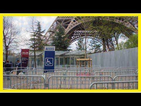 Après une grève des agents de sécurité, la Tour Eiffel rouvre ses portes