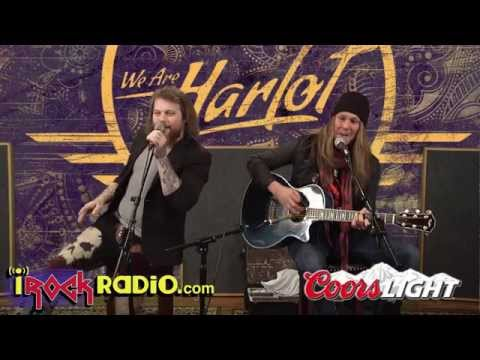 iRockRadio.com - We Are Harlot - Acoustic - I Tried
