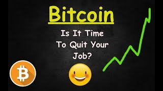 Bitcoin Looks Bullish But Can You Quit Your Job? 🔴 LIVE