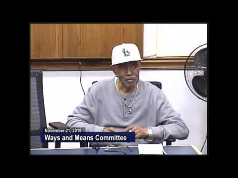Ways & Means Committee 11-21-19