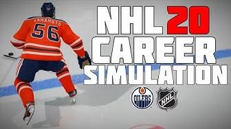 NHL 20 KAILER YAMAMOTO FULL CAREER SIMULATION