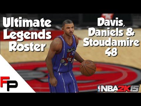 NBA 2K15 - Damon Stoudamire, Walter Davis & Mel Daniels - Ultimate Legends Roster #48