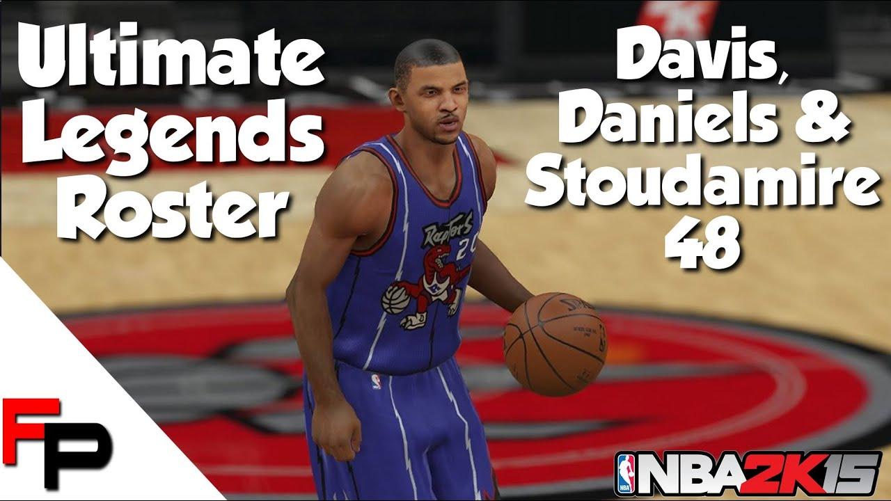 NBA 2K15 Damon Stoudamire Walter Davis & Mel Daniels Ultimate