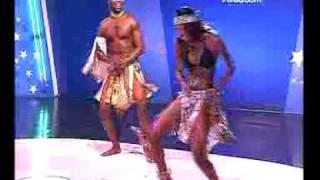 Oliver Style na 7ª Gala do Dança dos Artistas Vodacom