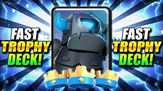 #1 NEW META BEATDOWN!! 7500+ TROPHY DECK IN CLASH ROYALE!!